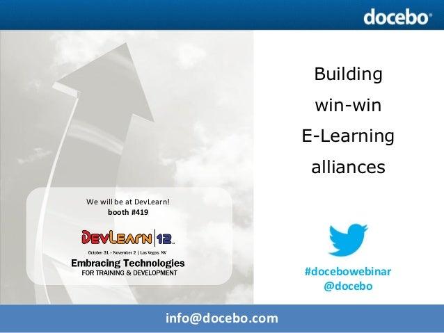 Docebo E-Learning Webinar - Discover the Docebo Partner Network
