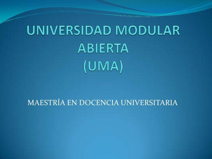 Docencia 1  Pensamiento PedagóGico Universal