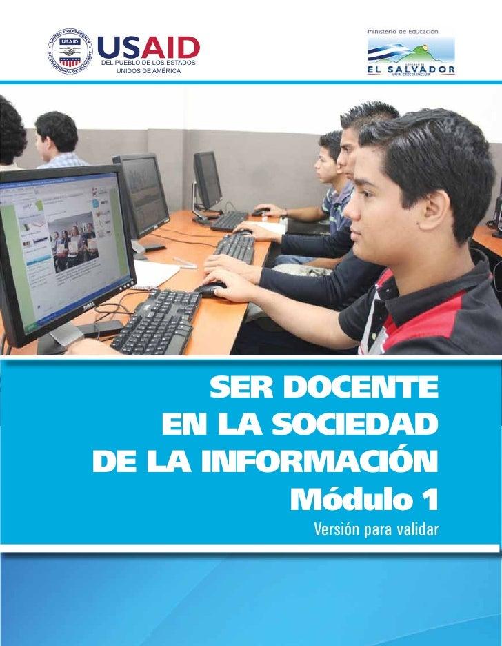 Docente en la sociedad de la información_M1