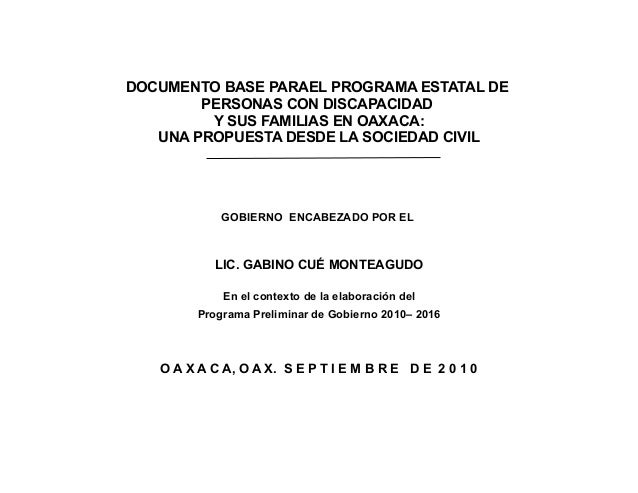 DOCUMENTO BASE PARA