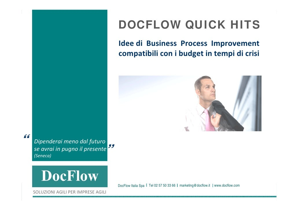 DOCFLOW QUICK HITS                                                                           Idee di  Business  Process Im...