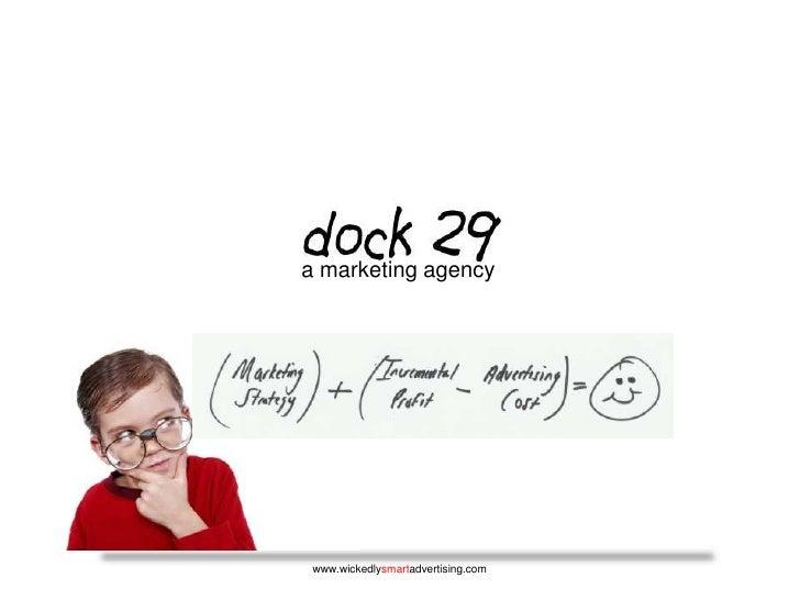 a marketing agency<br />