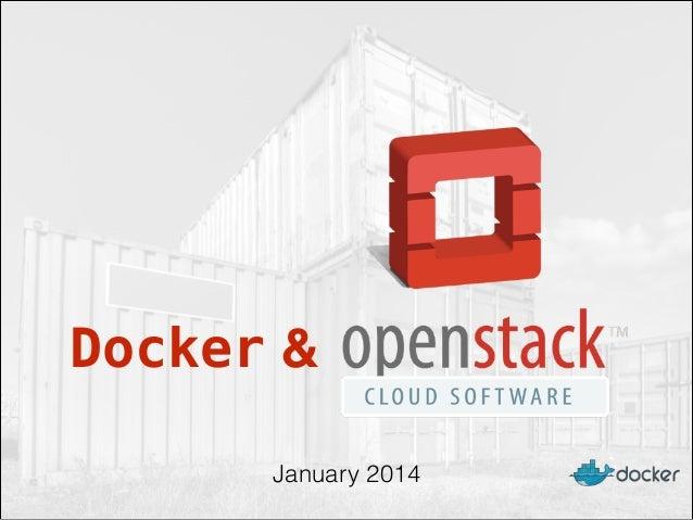 Docker and OpenStack at Rackspace