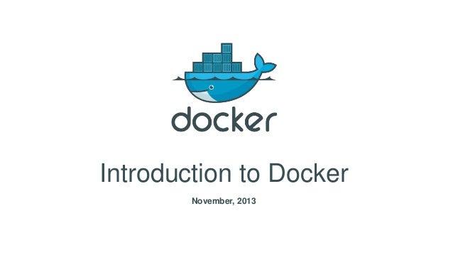 Docker introduction