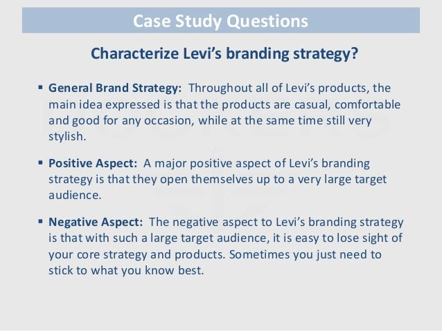 case study marketing mix Marketing research case history: the return on advertising expenditures (or how much stimulation of sales could be expected per target rating point (trp) of advertising.