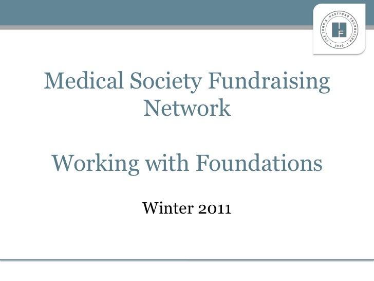 Medical Society Fundraising Presentation