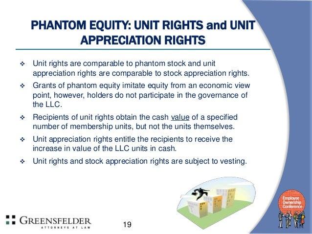Stock appreciation rights vs employee stock options