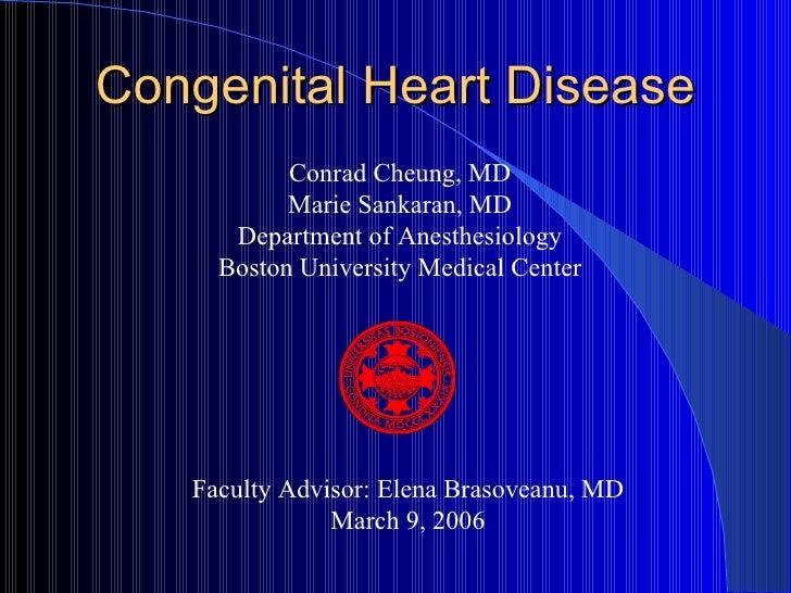 Docslide:congenital heart disease