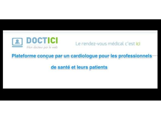 Doctici - comment ça marche? - patients