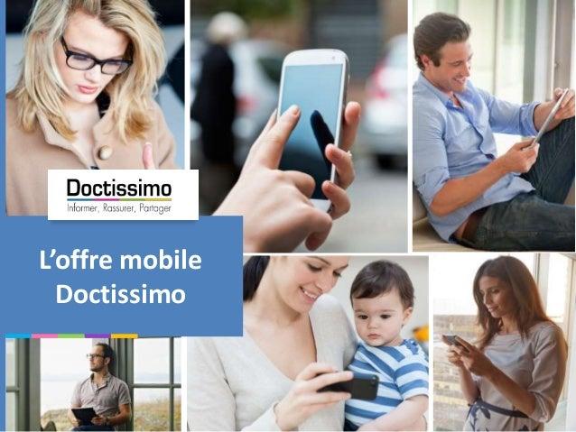 L'offre mobile Doctissimo