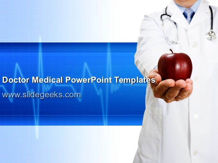 Doctor Medical PowerPoint Templates www.slidegeeks.com