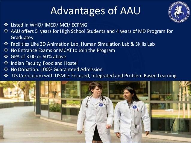 Do these american universities offer undergraduate courses for medicine?
