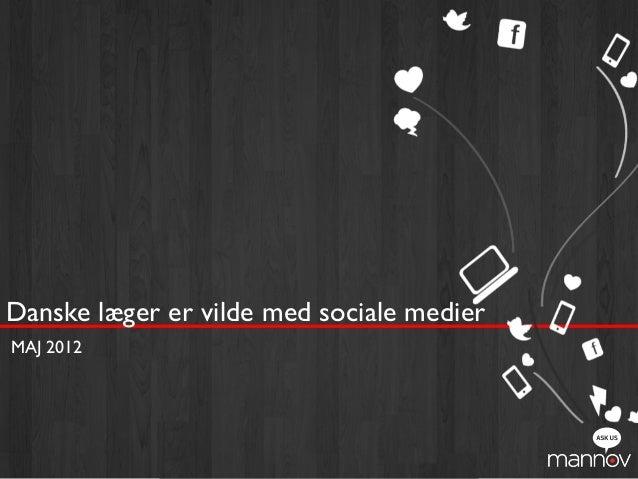 Danske læger er vilde med sociale medier