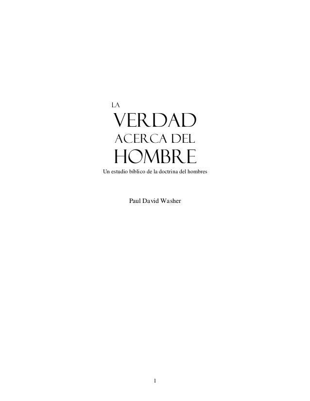 Doctrina del Hombre- Paul Washer