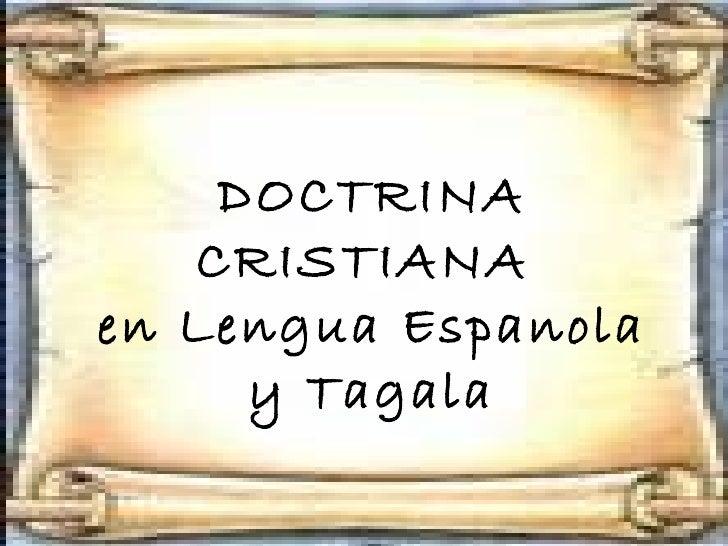 Doctrina cristiana   e-01