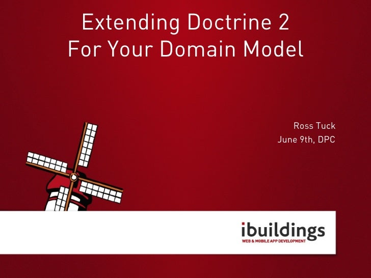 Extending Doctrine 2 for your Domain Model