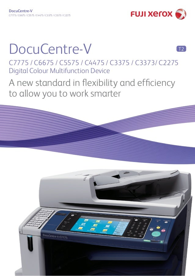 DocuCentre V c7775 series