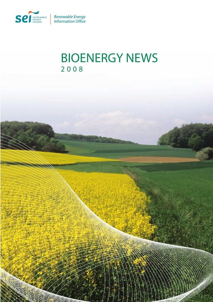 BioEnergy News 2008 - Ireland