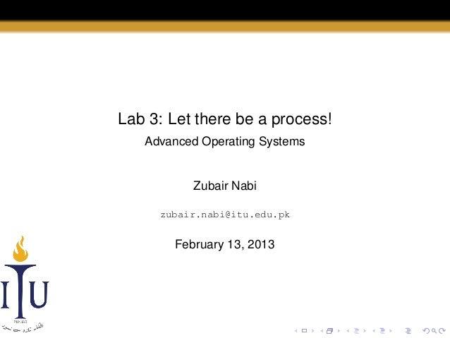 AOS Lab 1: Hello, Linux!