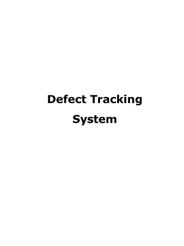 Document   defect tracking for improving product quality and productivity
