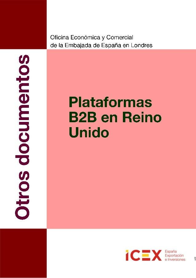 La Oficina Económica y Comercial de España en Londres ha realizado un informe general sobre el Comercioelectrónico en Rein...