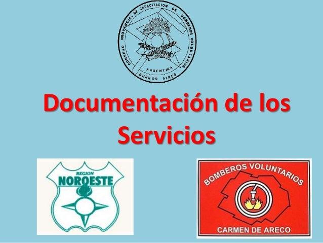 Documentación de los Servicios