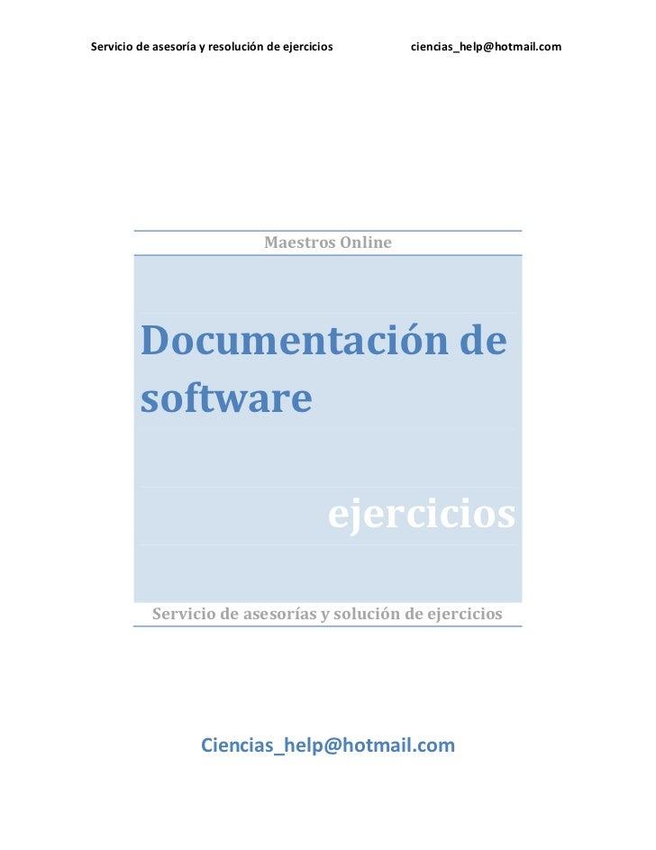 Documentación de software