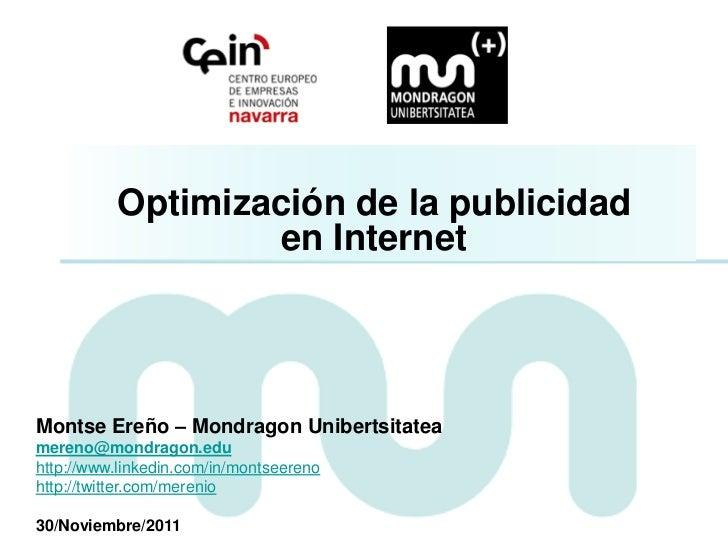 Curso CEIN Optimización Publicidad en Internet - Respuesta Digital
