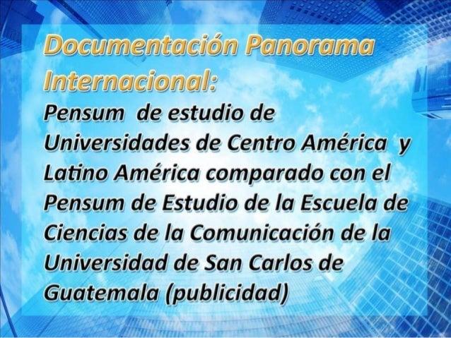 UNIVERSIDADES DE AMÉRICALa Fundación de Altos Estudios en Ciencias ComercialesPatrocinada por A.D.E. (Asociación Dirigente...