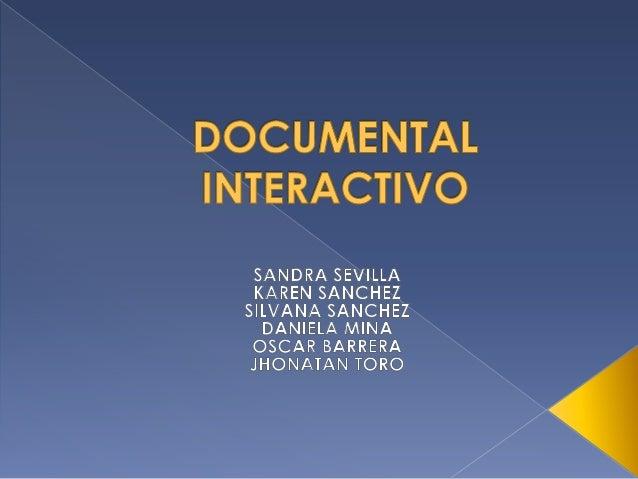 Documental interactivo
