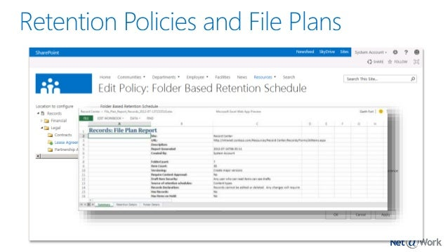 Document And Records Management In Sharepoint