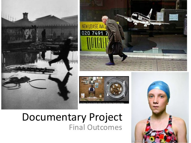 Documentary final outomes 2013
