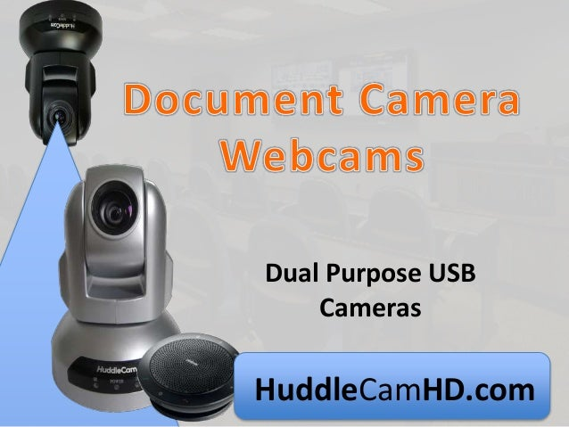 HuddleCamHD.com Dual Purpose USB Cameras
