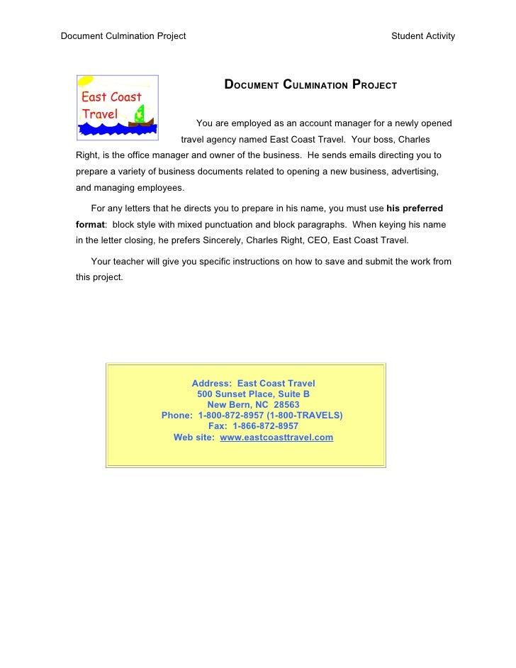 Document Culmination Project