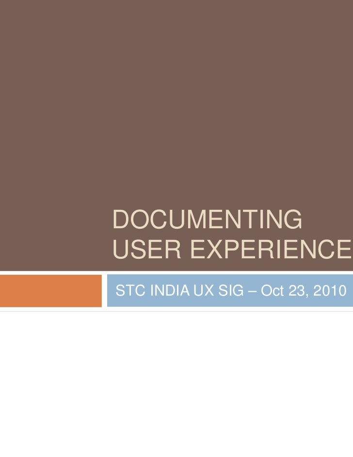 Documentation Deliverables for UX by Xavier Roy, Bally Technologies