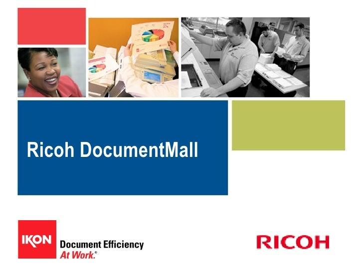 Document Mall Customer Presentation