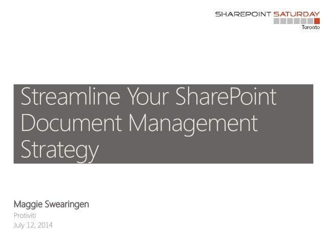 Document management spstoronto
