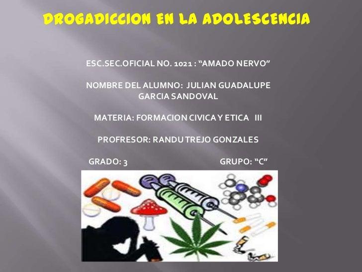La drogadicción en los jóvenes - es.slideshare.net