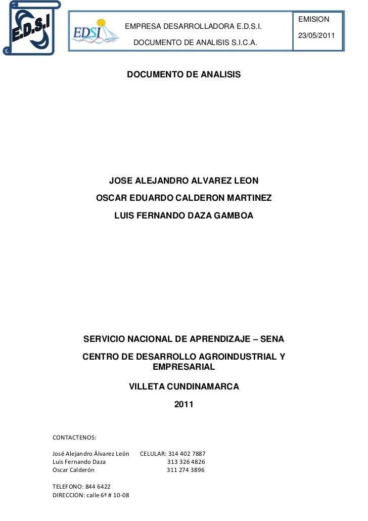 DOCUMENTO DE ANALISIS