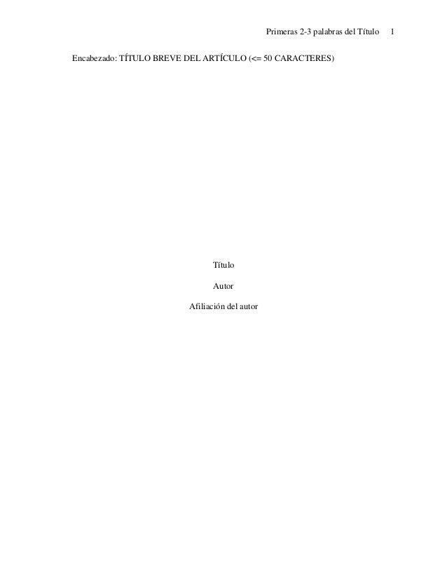 Documento apa