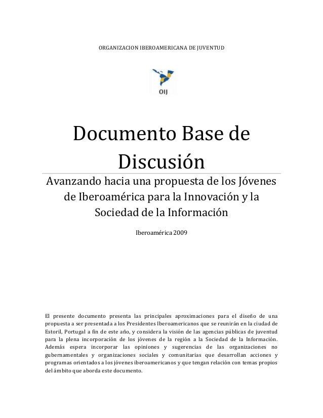Documento Base Discusion Rio 2009 (Oij Sociedad De La Informacion)