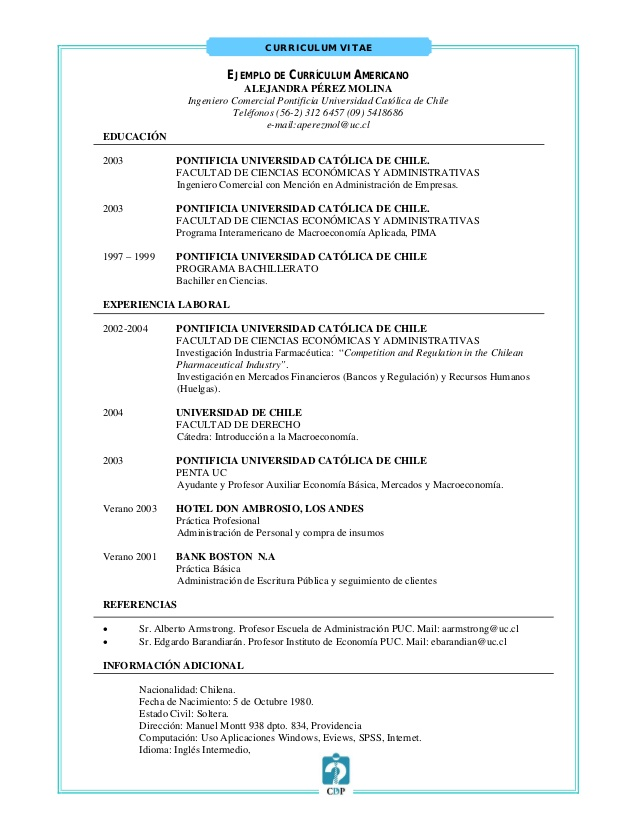Curriculum vitae de ing en sistemas computacionales - essay uk
