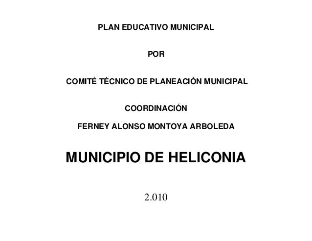 Documento final pem heliconia
