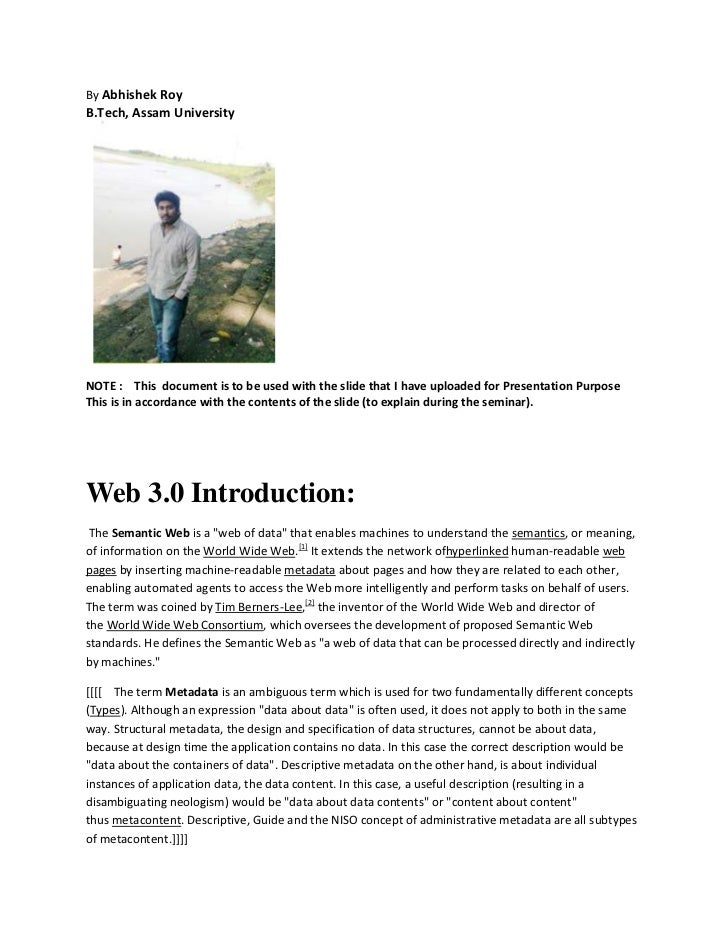 Document of presentation(web 3.0)(part 2)