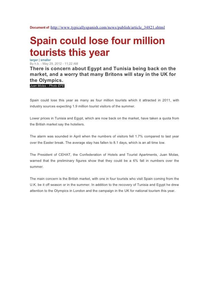 Document of turism