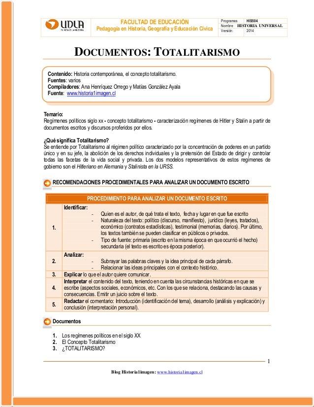 Documentos 9 totalitarismos
