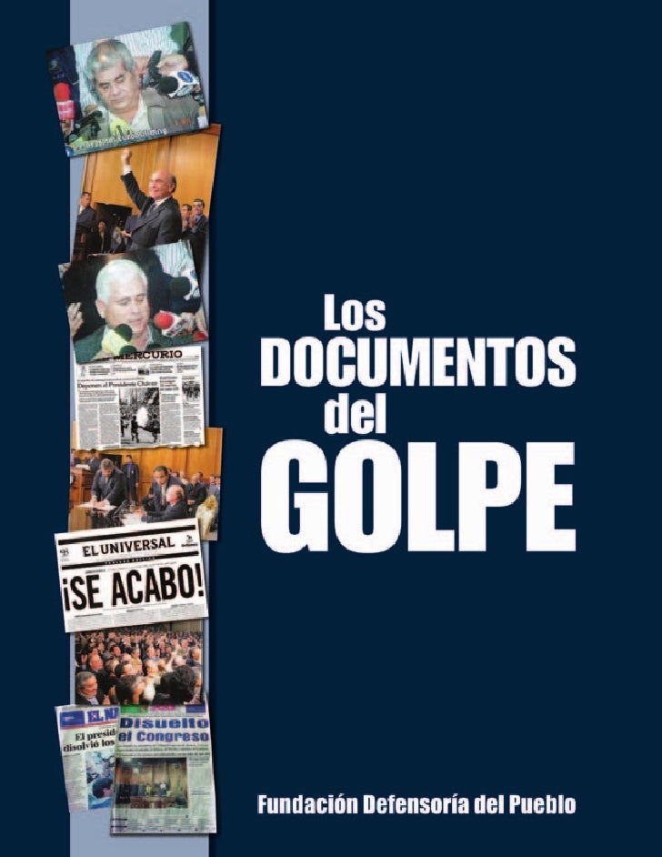 Quinta edición. Versión digital. Fundación Defensoría del PuebloCoordinadores de la InvestigaciónJesús Sotillo Bolívar, Ri...