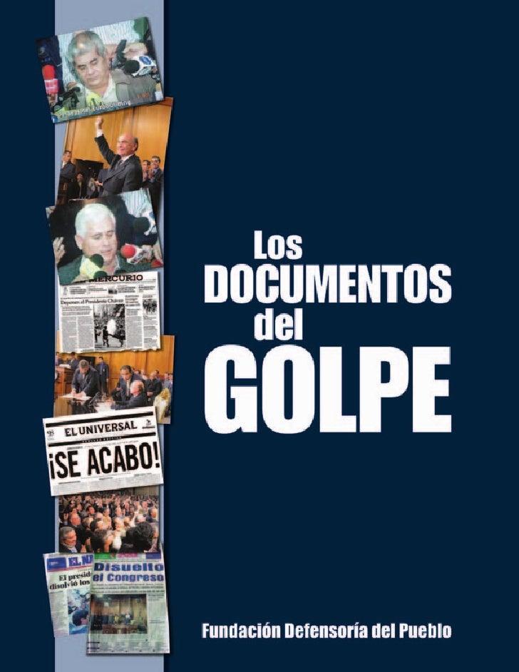 Documentos del golpe