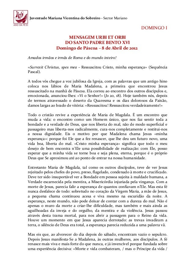 Juventude Mariana Vicentina do Sobreiro - Sector Mariano                                                                  ...