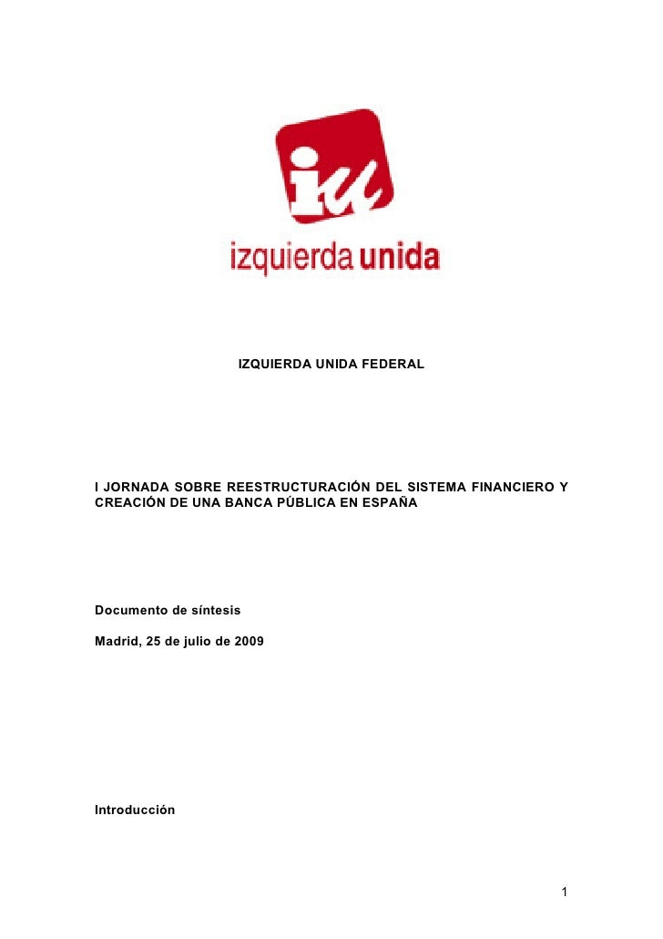 Documento Sintesis Jornada 29 07 09